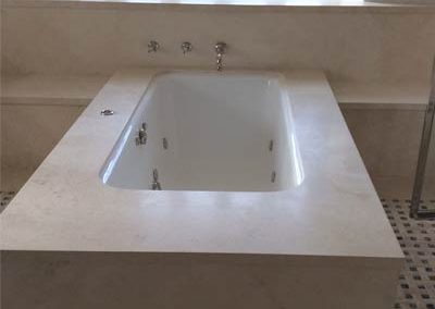 Bathroom Travertine Cleaning-Alex-Stone and Tile Services