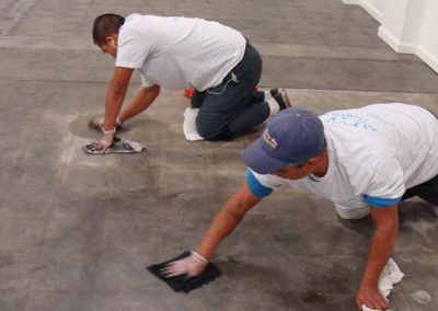 Commercial Studio Concrete Cleaning - Alex Stone and Tile Services