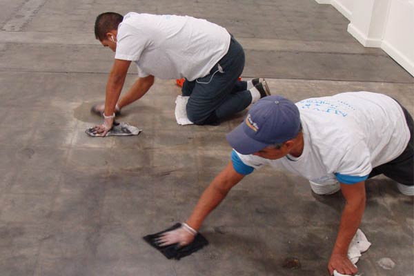 Photos stone cleaning companies alex stone and tile for Industrial concrete floor cleaning services