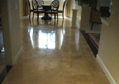 Stone Floor Polished by Alex Stone and Tile Services