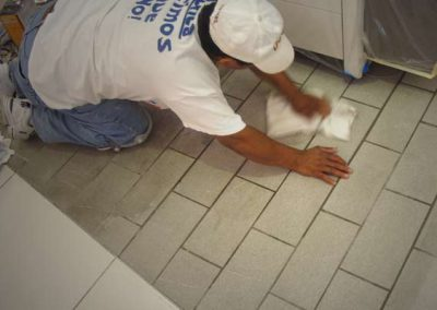 Tile Floor Restoration by Alex Stone and Tile Services