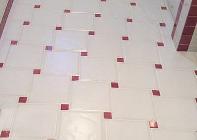 Vintage Bathroom Tile Floor Cleaning - Alex Stone and Tile Services
